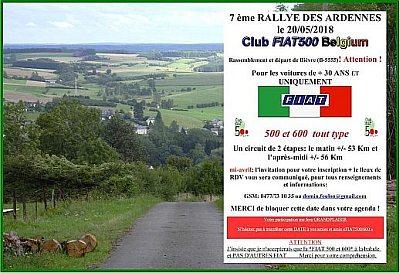 Rallye des Ardennes 2018